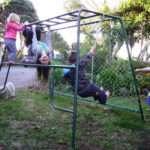 Climbing frames jungle gyms