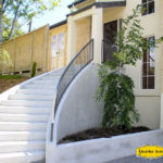 Curved Handrail side