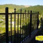 Fence Style FP05 Fleur-de-lis top