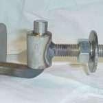 Stainless Steel Adjustable hinge Before powder coated
