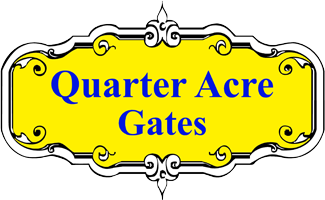 Quarter Acre Gates logo