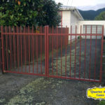 Driveway Gates Style Custom Exposed Rung Top