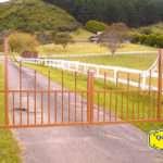 Driveway Gates Style Custom Texas