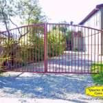 Driveway Gates Style DG09 Arch Top