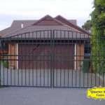 Driveway Gates Style DG09 Arch Top Double Centre
