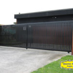 Driveway Gates Style Slat Vertical