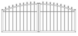 Driveway Gate DG-12